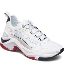 fashion wedge sneaker sneakers skor vit tommy hilfiger
