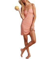 billabong x salty blonde women's just because mini dress