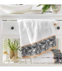ręcznik łazienkowy amanda biały 90x50 cm