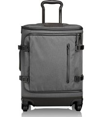 men's tumi 'tahoe - edgewood' continental wheeled carry-on - grey