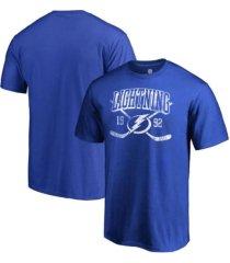 authentic nhl apparel tampa bay lightning men's line shift t-shirt