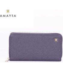 billetera lila mujer amayra fit