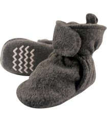 hudson baby toddler boys and girls cozy fleece booties