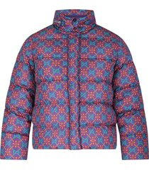 gucci purple jacket with double gg for girl