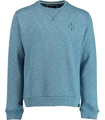 basefield sweatshirt 219015067/606 blauw