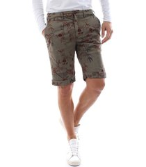 40weft sergent be 163 shorts and bermudas men deep green
