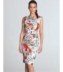sukienka ołówkowa z falbanami
