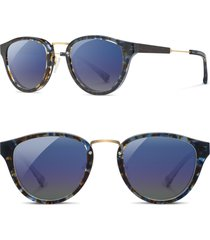 women's shwood 'ainsworth' 49mm polarized sunglasses -