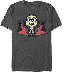 despicable me men's minions dracula halloween monster short sleeve t-shirt