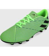 guayo verde-negro adidas performance guayos nemeziz 19.4 multiterreno