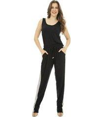 calça faixas catwalk plus size - feminino