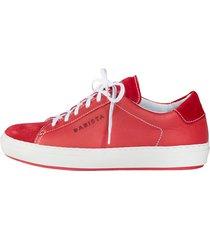sneakers babista röd
