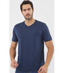 camiseta dudalina logo azul-marinho - kanui