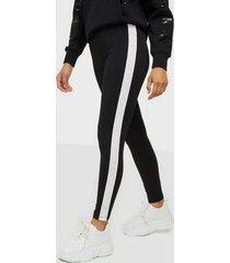 calvin klein jeans mesh tape logo legging leggings