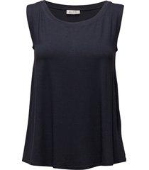 elisa t-shirts & tops sleeveless blå masai