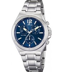 reloj azul lotus hombre chrono