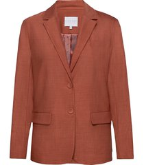 suit jacket w. button details at cu blazer colbert rood coster copenhagen