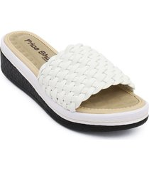 priceshoes sandalia confort dama 6922733blanco