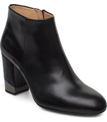 obito_na shoes boots ankle boots ankle boots with heel svart unisa