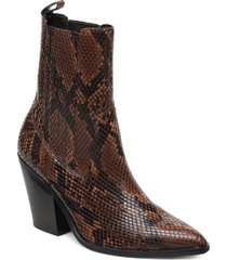 drerissa shoes boots ankle boots ankle boots with heel brun aldo