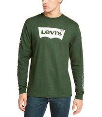 levi's men's tundra logo graphic t-shirt