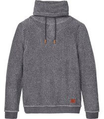 maglione a collo alto (grigio) - john baner jeanswear