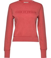 obsessa pr sweat-shirt tröja röd tiger of sweden jeans
