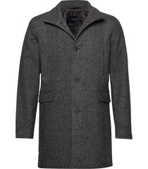 slhmosto wool coat b wollen jas lange jas grijs selected homme