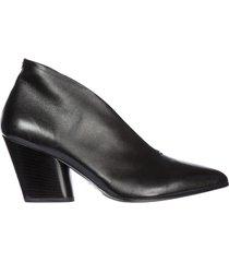 decolletes decoltè scarpe donna con tacco pelle rouge 31