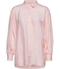 iw50 04 hutton shirt blus långärmad rosa inwear