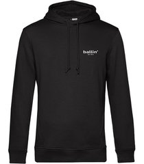 sweater ballin est. 2013 small logo hoodie