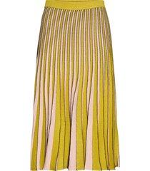 cyrilla knälång kjol gul baum und pferdgarten