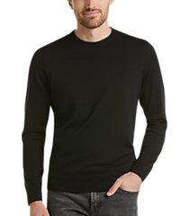 awearness kenneth cole awear-tech black modern fit crewneck sweater