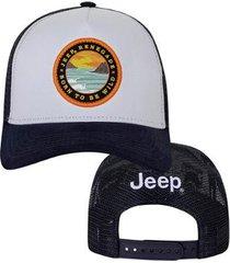 boné trucker jeep renegade