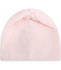 little bear pink hat for babykids