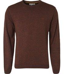 no excess pullover crewneck 2 color rusty