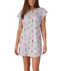 nite nite by munki munki pineapple sleepshirt nightgown, online only