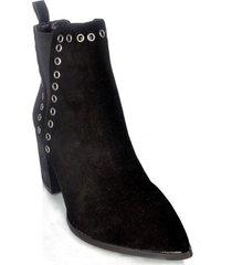 botin aurora invierno negro we love shoes