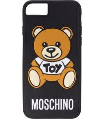 moschino teddy bear iphone 7/8 case - black