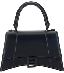 borsa donna a mano shopping in in pelle hourglass