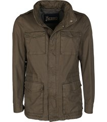 army green cotton sport jacket