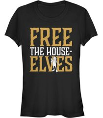 fifth sun harry potter dobby free the house-elves women's short sleeve t-shirt