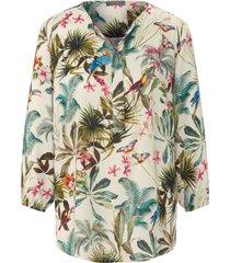 blouse met 3/4-mouwen van mybc multicolour