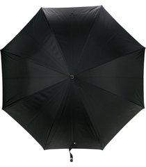 alexander mcqueen guarda-chuva 'skull' - preto