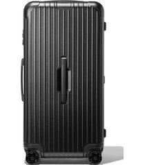 rimowa essential trunk plus 32-inch wheeled suitcase -
