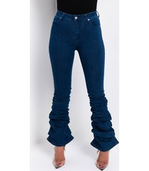 akira alicia high rise stacked jeans