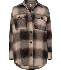 sc-lania t-shirts & tops long-sleeved bruin soyaconcept