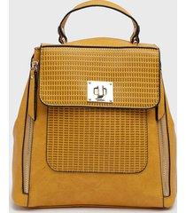 mochila amarillo sei