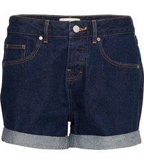 steph boyfriend short shorts denim shorts blå superdry