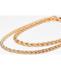 womens chain-ge for the better rope necklace - gold